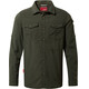 Craghoppers NosiLife Adventure Longsleeve Shirt Men Dark Khaki